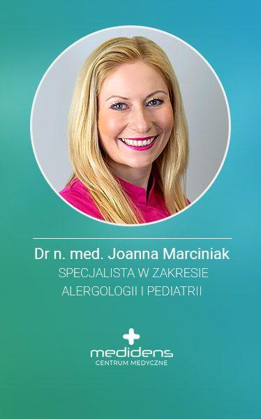 Medidens Alergolog D. n.med Joanna Marciniak, specjalista alergolog Częstochowa